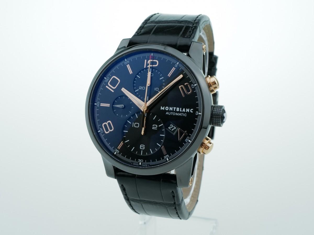 Швейцарские часы Montblanc Timewalker Chronograph 105805