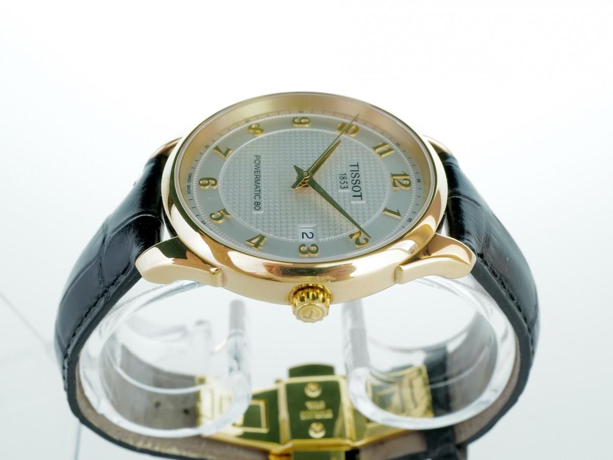 Швейцарские часы Tissot T-Gold Vintage Powermatic 80 18k Gold Automatic
