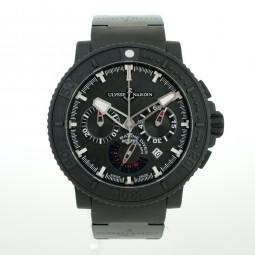 Швейцарские часы Ulysse Nardin Black Sea Chronograph Diver