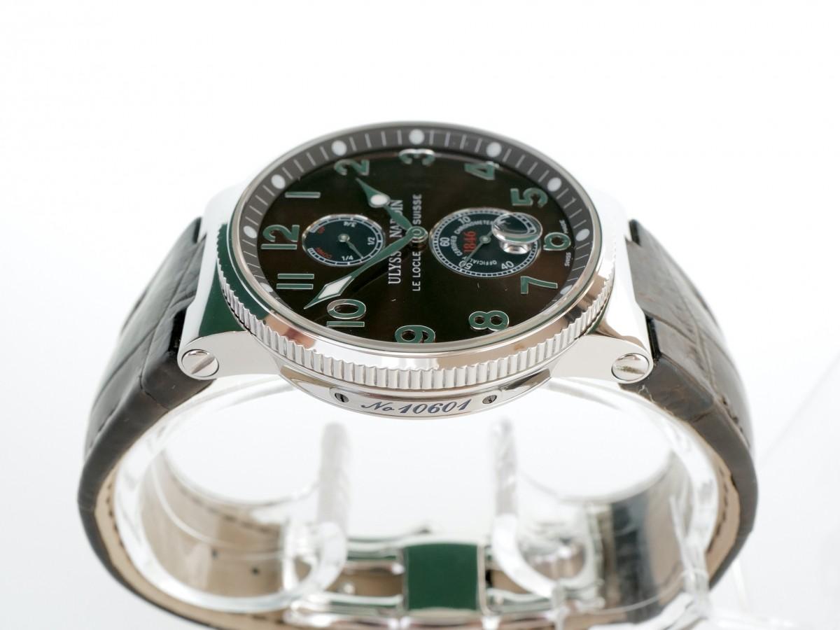 Швейцарские часы Ulysse Nardin Maxi Marine Chronometer 263-66/625