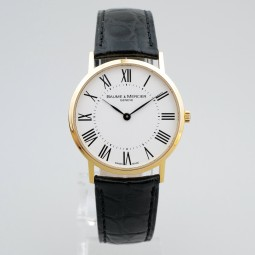 Швейцарские часы Baume & Mercier Classima Ultra Thin 18K Yellow Gold Quartz