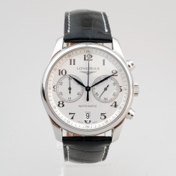 Швейцарские часы Longines Master Collection Chronograph White