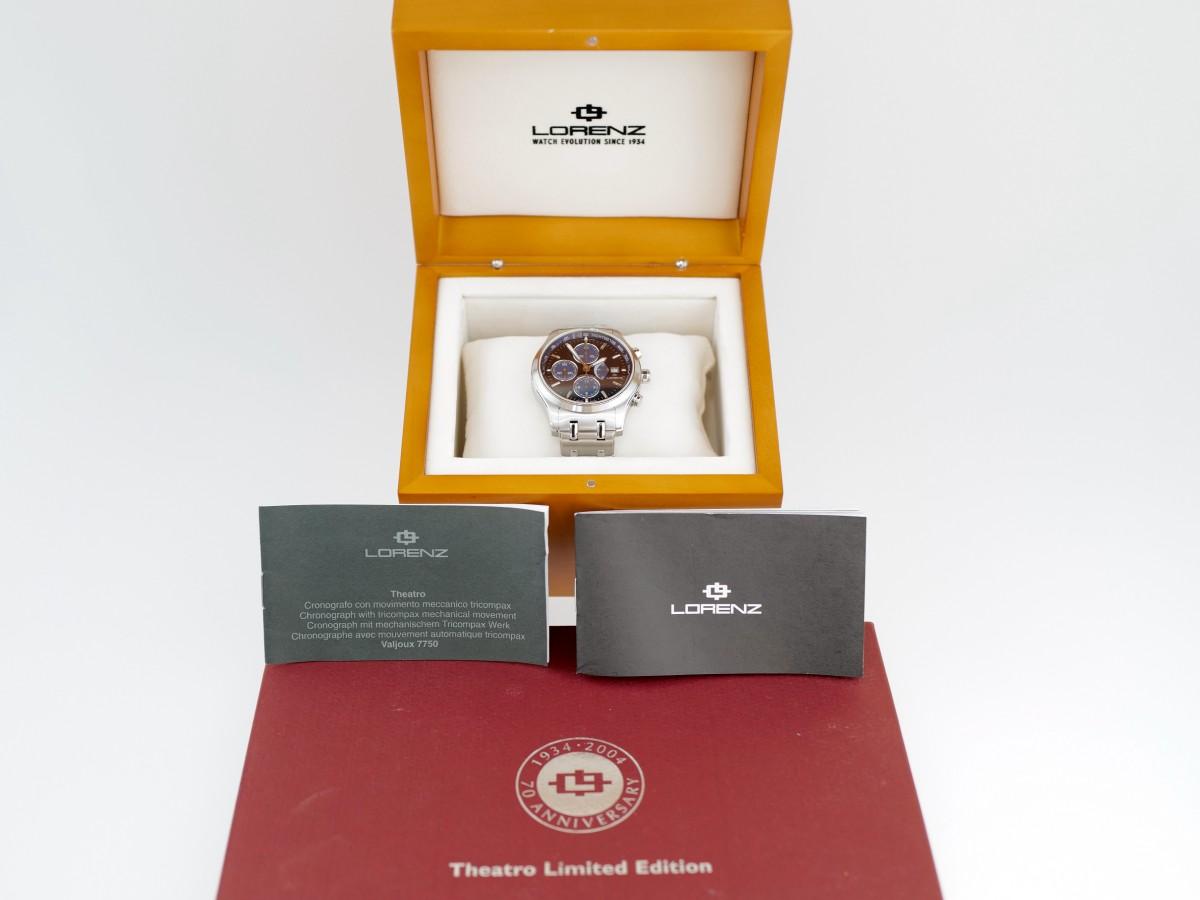 Швейцарские часы Lorenz Theatro Chronograph Limited Edition