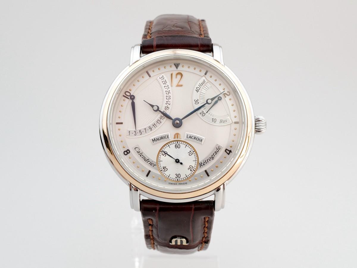Швейцарские часы Maurice Lacroix Masterpiece Retrograde