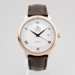 Швейцарские часы Omega De Ville Prestige Co-Axial 39.5 mm Automatic Silver Dial