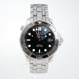 Швейцарские часы Omega Seamaster Diver 300m Co‑Axial 41mm Black Ceramic