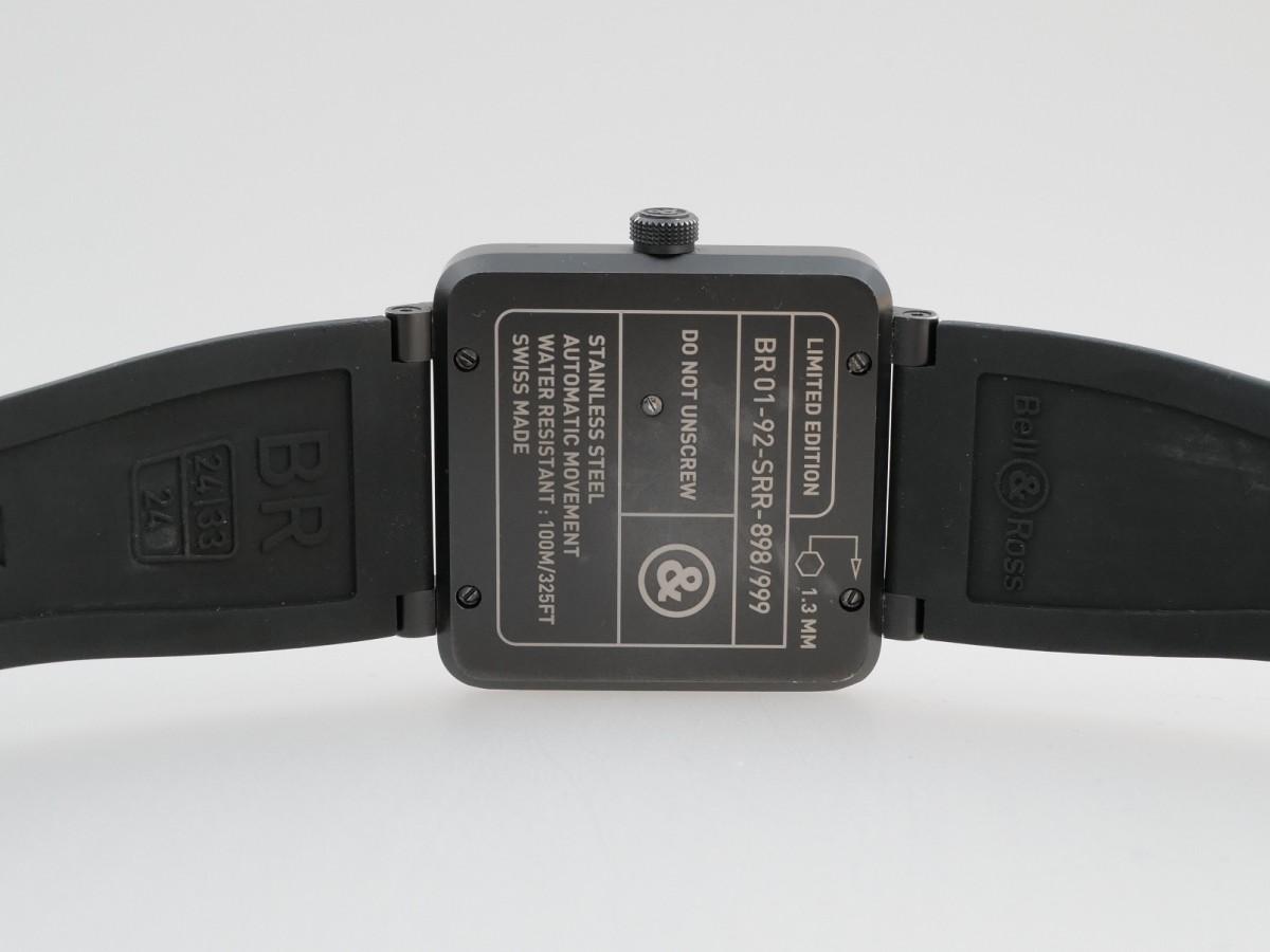 Швейцарские часы Bell & Ross BR 01-92 Red Radar Limited
