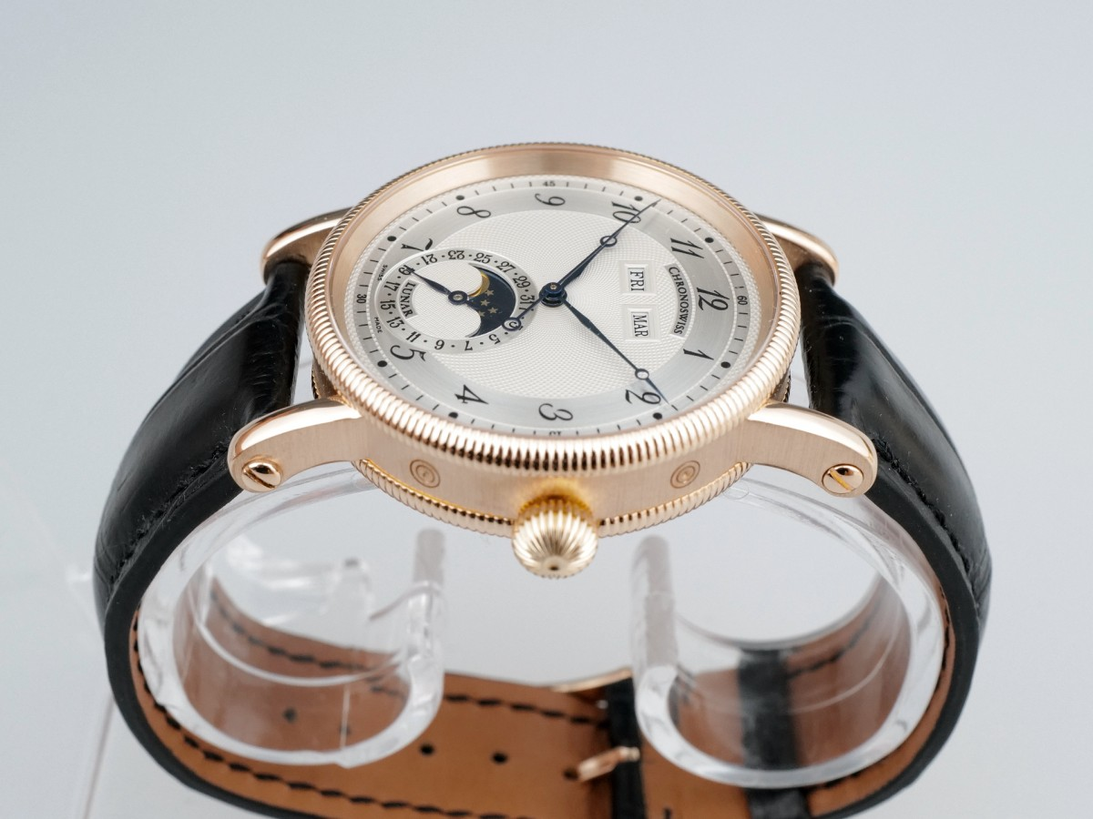 Швейцарские часы Chronoswiss Lunar Triple Calendar 18K Rose Gold
