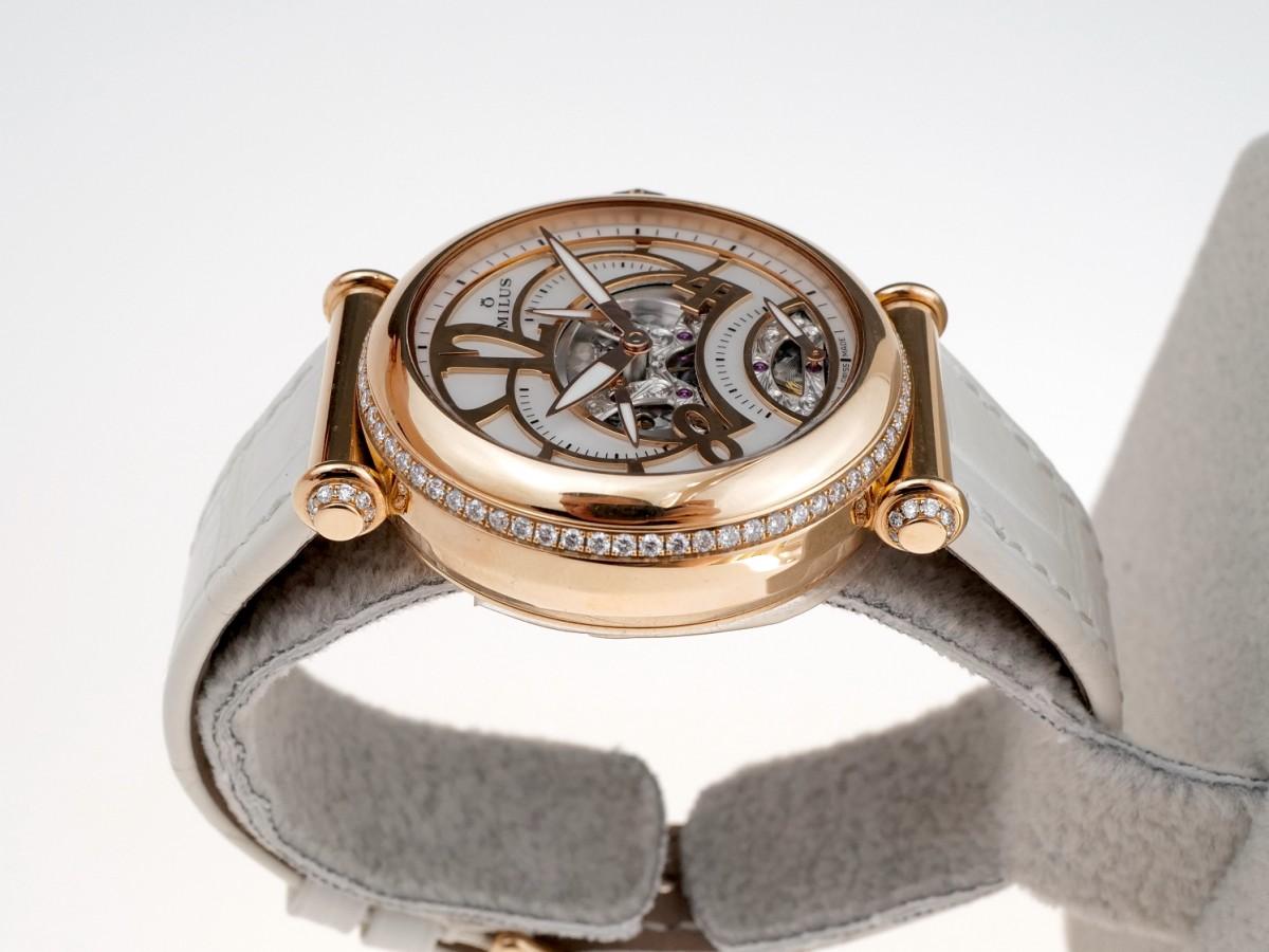 Швейцарские часы Milus Merea Diamond Ladies 18kt Rose Gold MERZP02