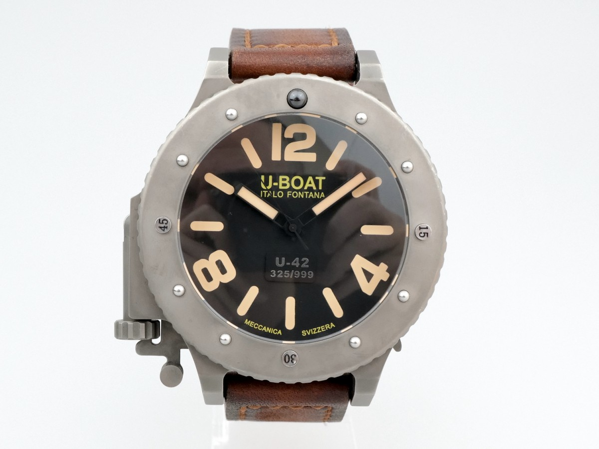 Швейцарские часы U-Boat Italo Fontana U-42 Automatic Limited 53mm