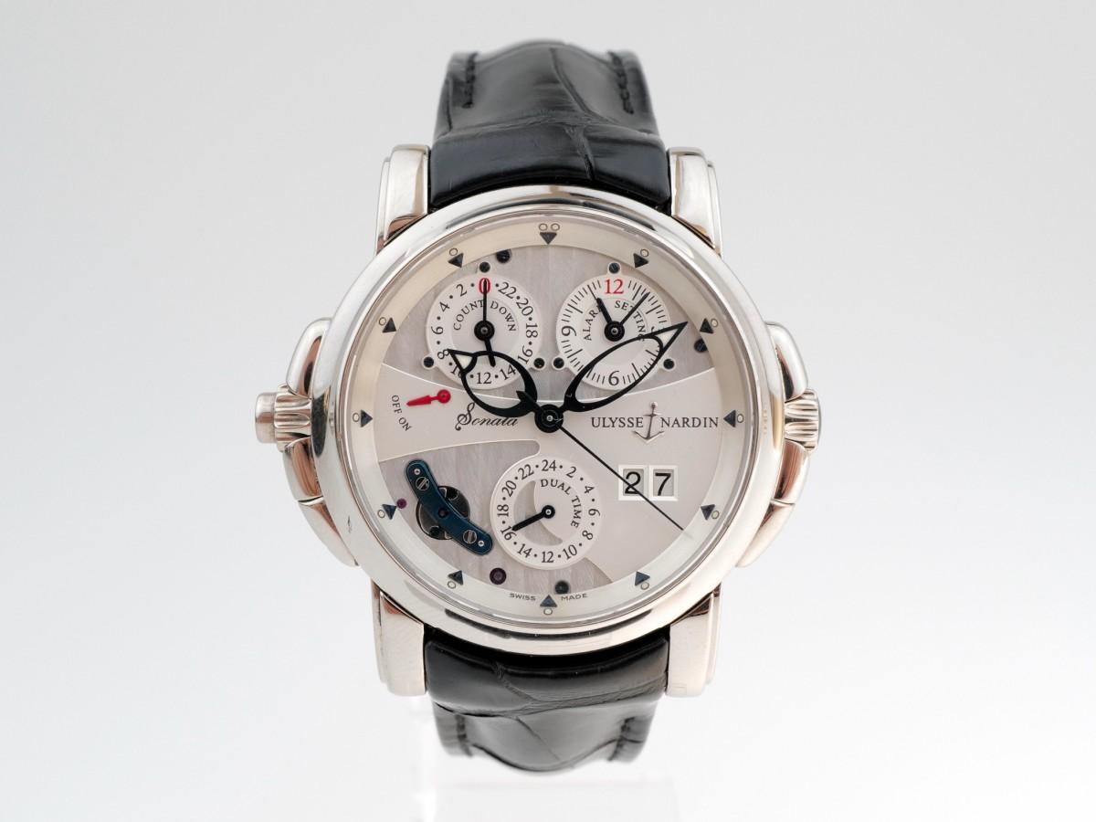 Швейцарские часы Ulysse Nardin Sonata First Edition 18K White Gold