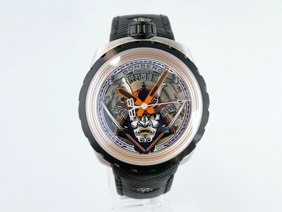 Швейцарские часы Bomberg Bolt-68 SAMURAI