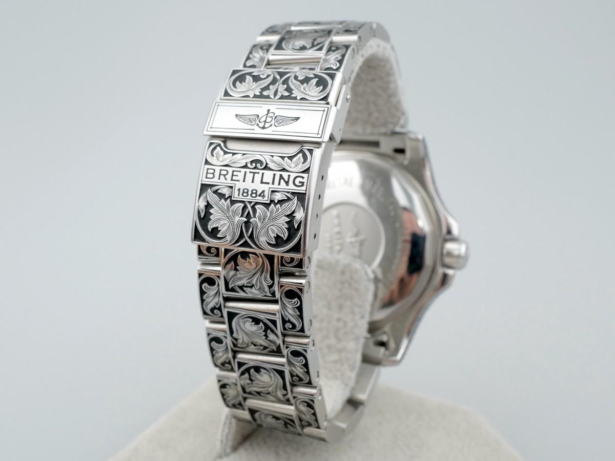 Швейцарские часы Breitling Superocean II 44 Black Chronometer A17392 Limited