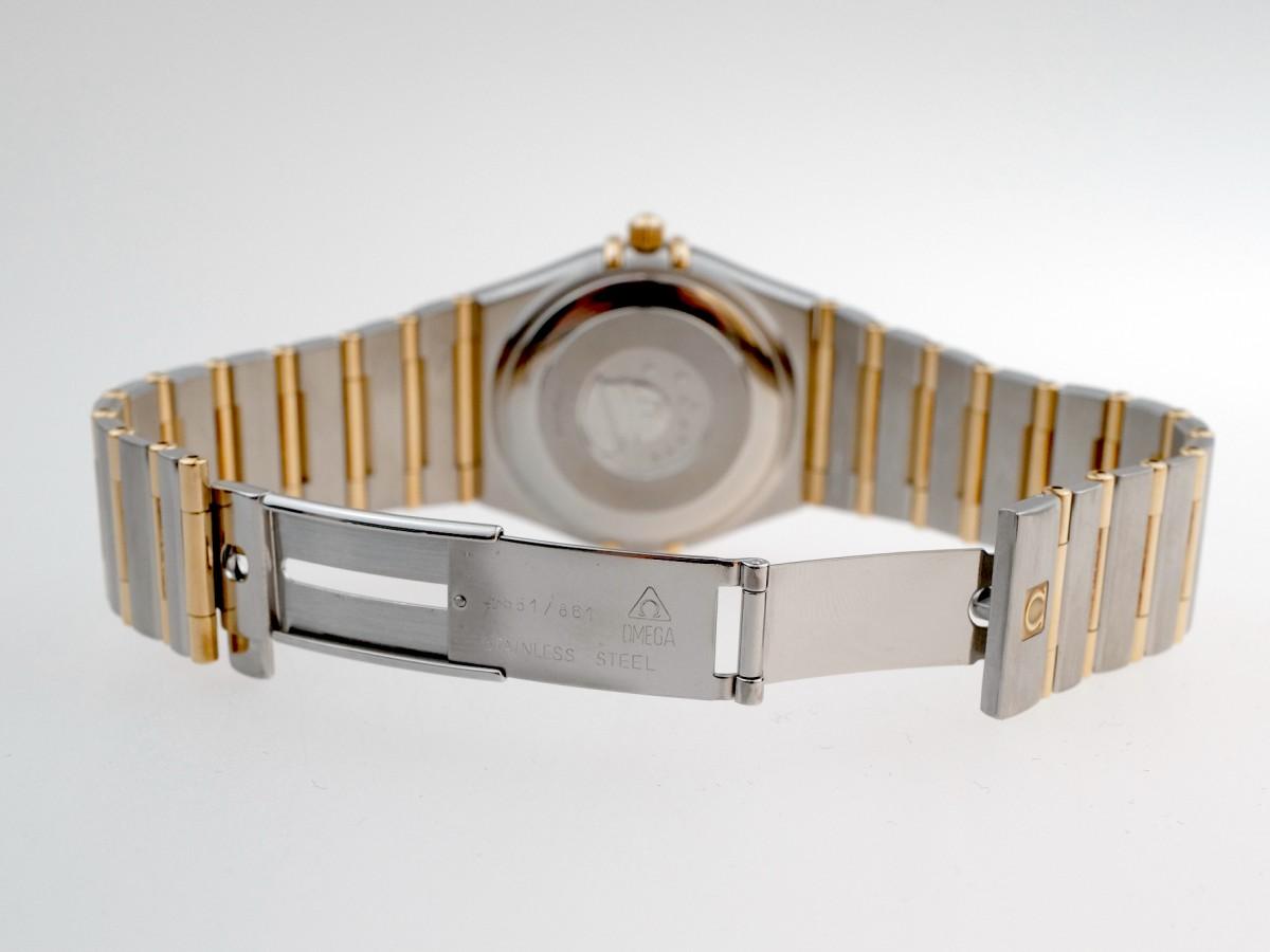 Швейцарские часы Omega Constellation 18kt Gold&Steel Perpetual Calender 1680