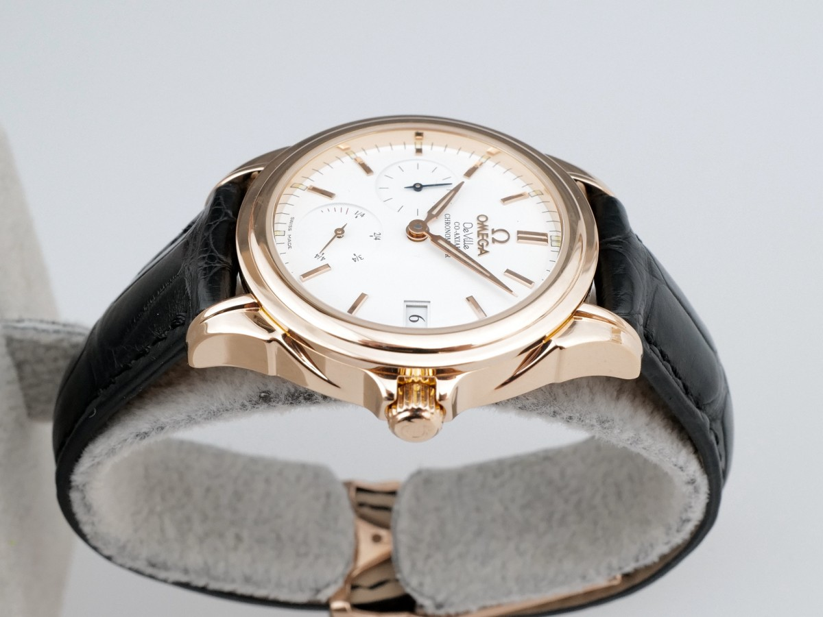 Швейцарские часы Omega De Ville Co-Axial Power Reserve 18 Rose Gold