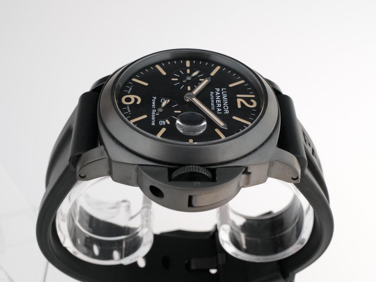 Швейцарские часы Panerai Luminor Power Reserve Black Pam00385 44mm