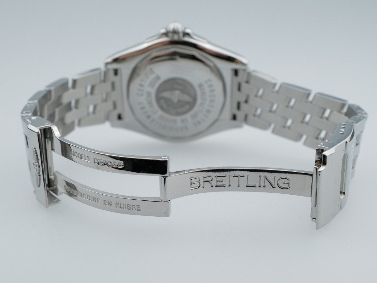 Швейцарские часы Breitling Galactic 41 Grey Dial