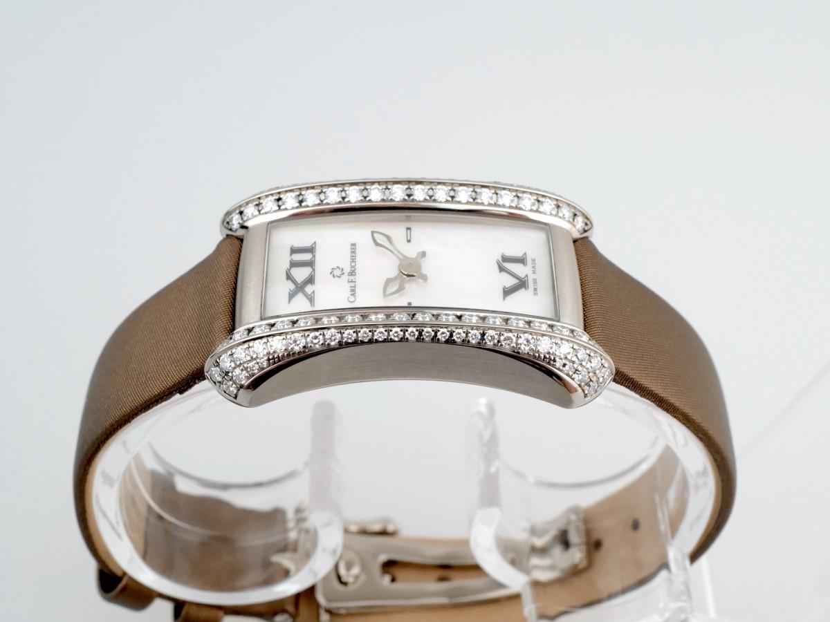 Швейцарские часы Carl F. Bucherer Alacria Midi 18K White Gold Diamonds
