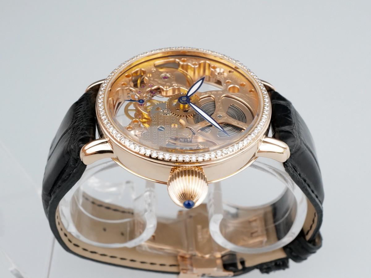 Швейцарские часы Krieger Gigantium Skeleton Diamonds Limited Manual Wind