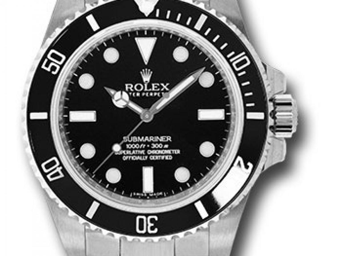 Швейцарские часы Rolex Submariner NoDate 40 mm 104060