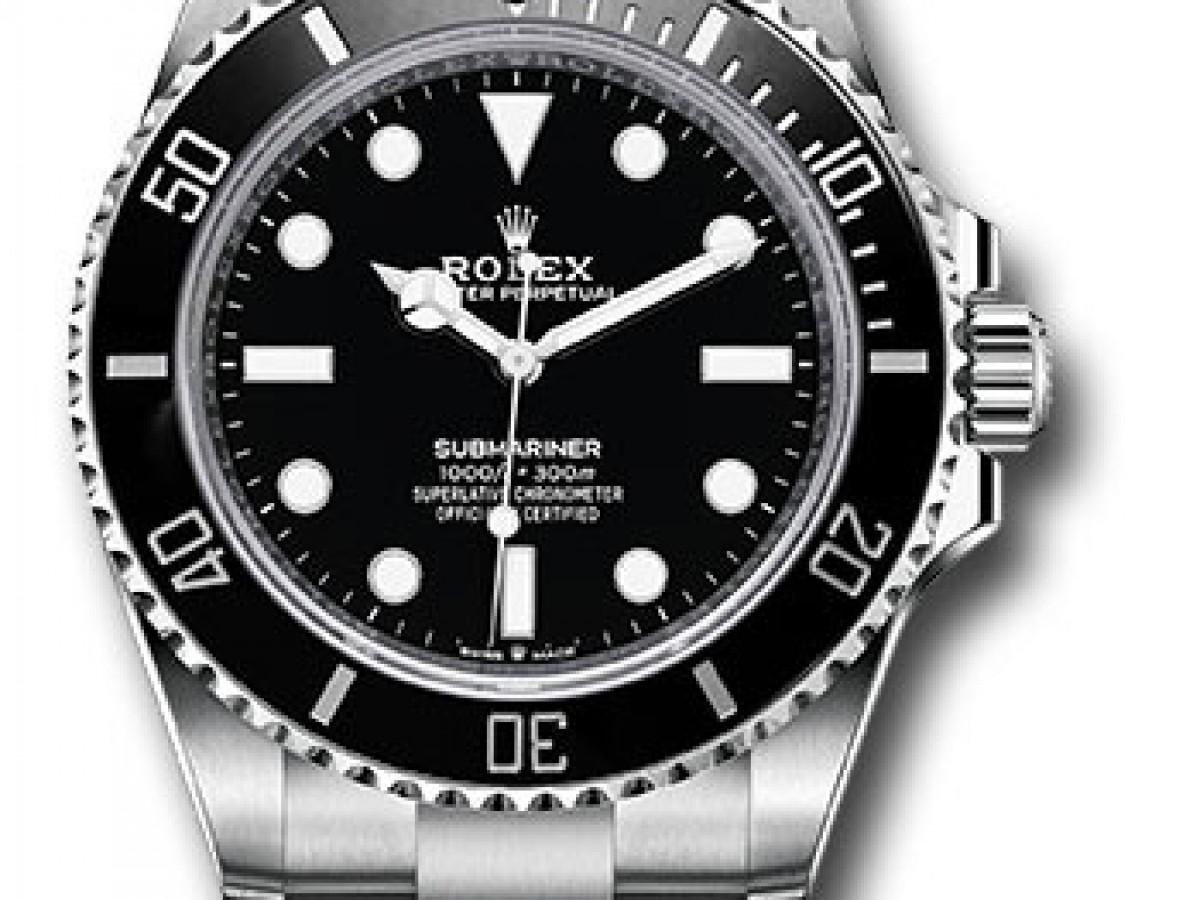 Швейцарские часы Rolex Submariner NoDate 41 mm 124060