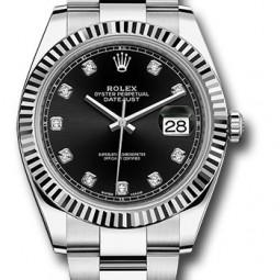 Швейцарские часы Rolex Datejust 41 Oyster 126334 bkdo