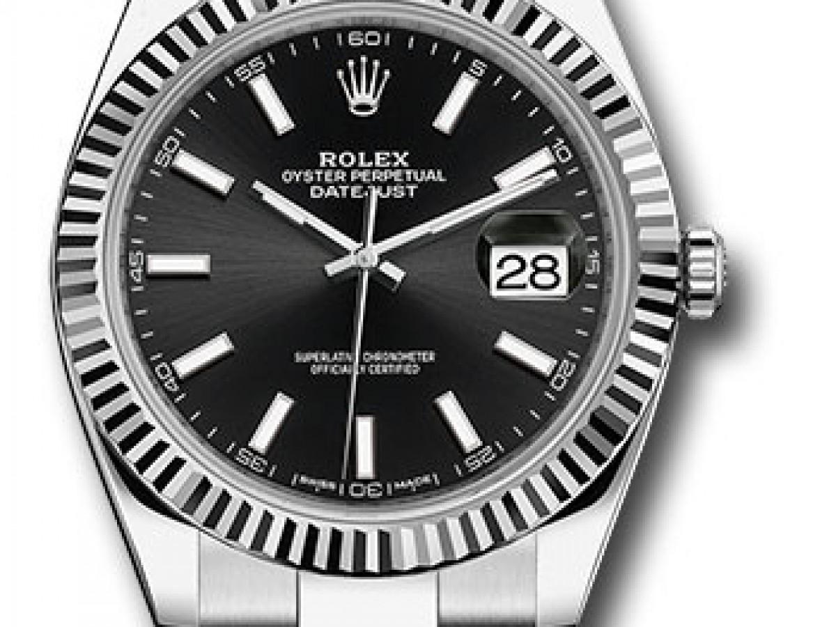 Швейцарские часы Rolex Datejust 41 Oyster 126334 bkio