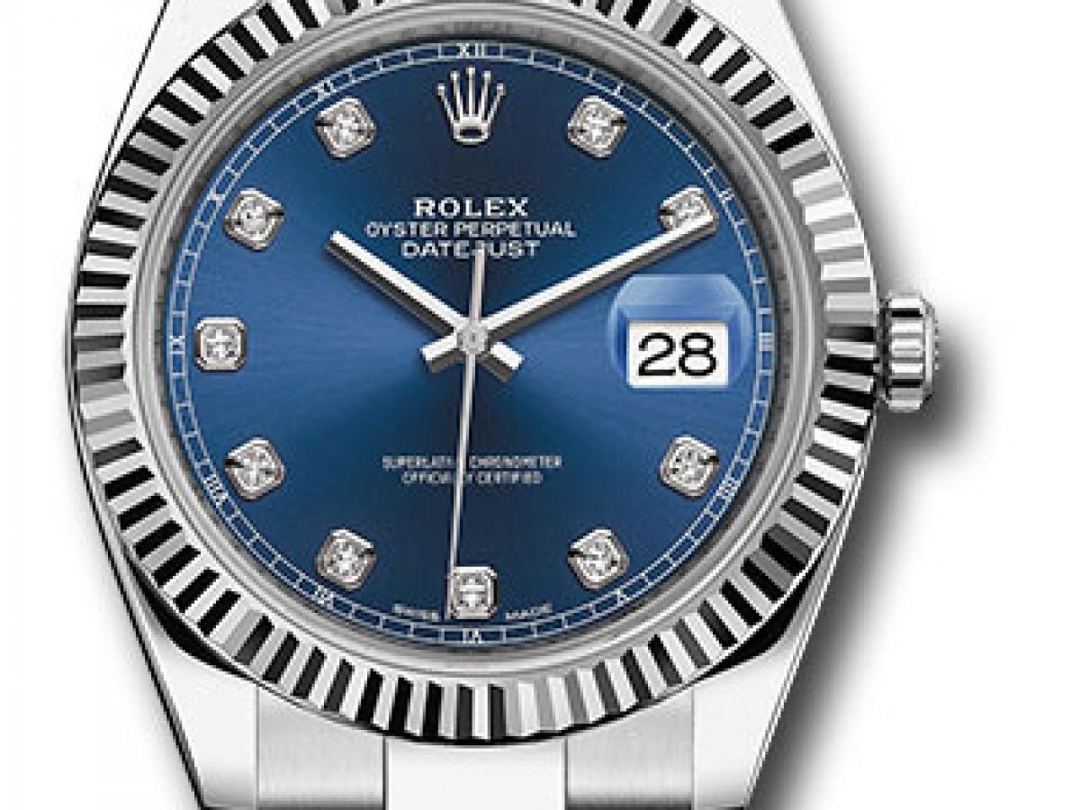 Швейцарские часы Rolex Datejust 41 Oyster 126334 bldo