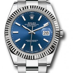Швейцарские часы Rolex Datejust 41 Oyster 126334 blio