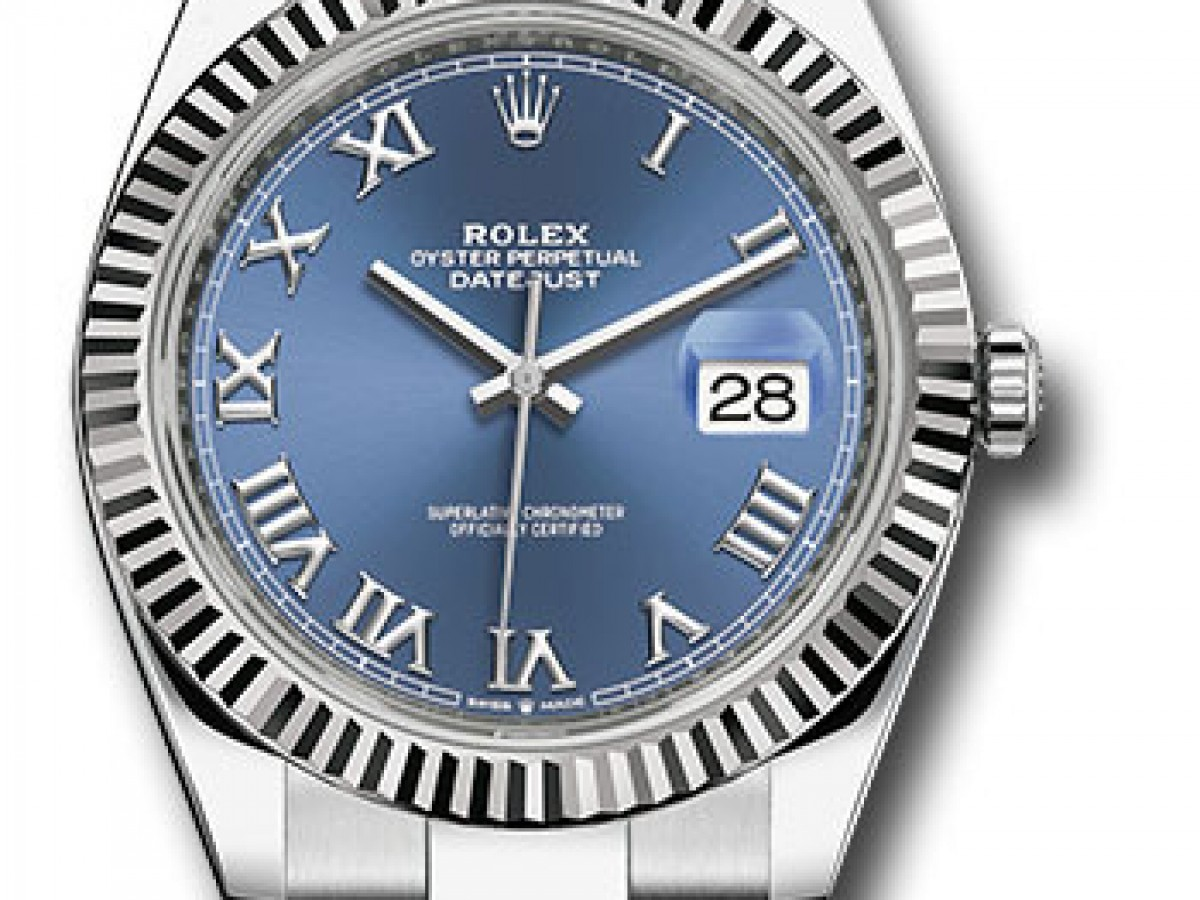 Швейцарские часы Rolex Datejust 41 Oyster 126334 blro