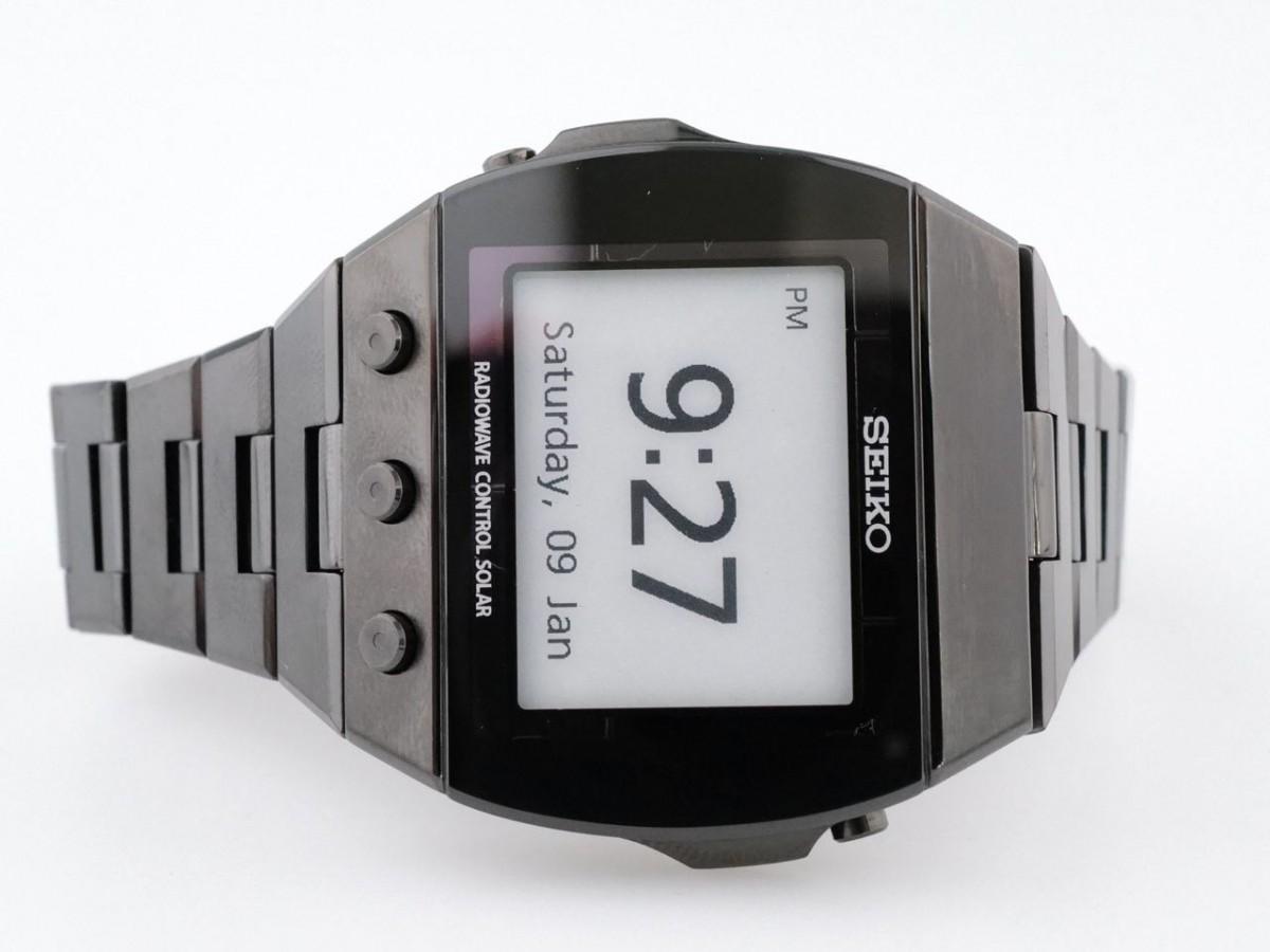 Швейцарские часы Seiko Brightz Active Matrics EPD Master Series PVD E-Ink