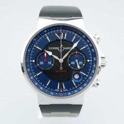 Швейцарские часы Ulysse Nardin Maxi Marine Chronograph