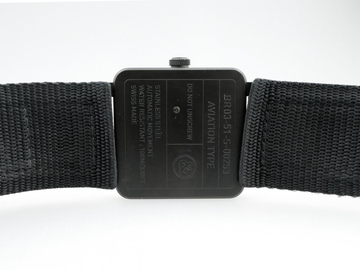 Швейцарские часы Bell & Ross BR03-51 GMT