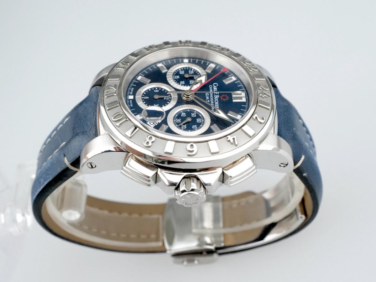 Швейцарские часы Carl F. Bucherer Patravi Gmt Chronograph Blue