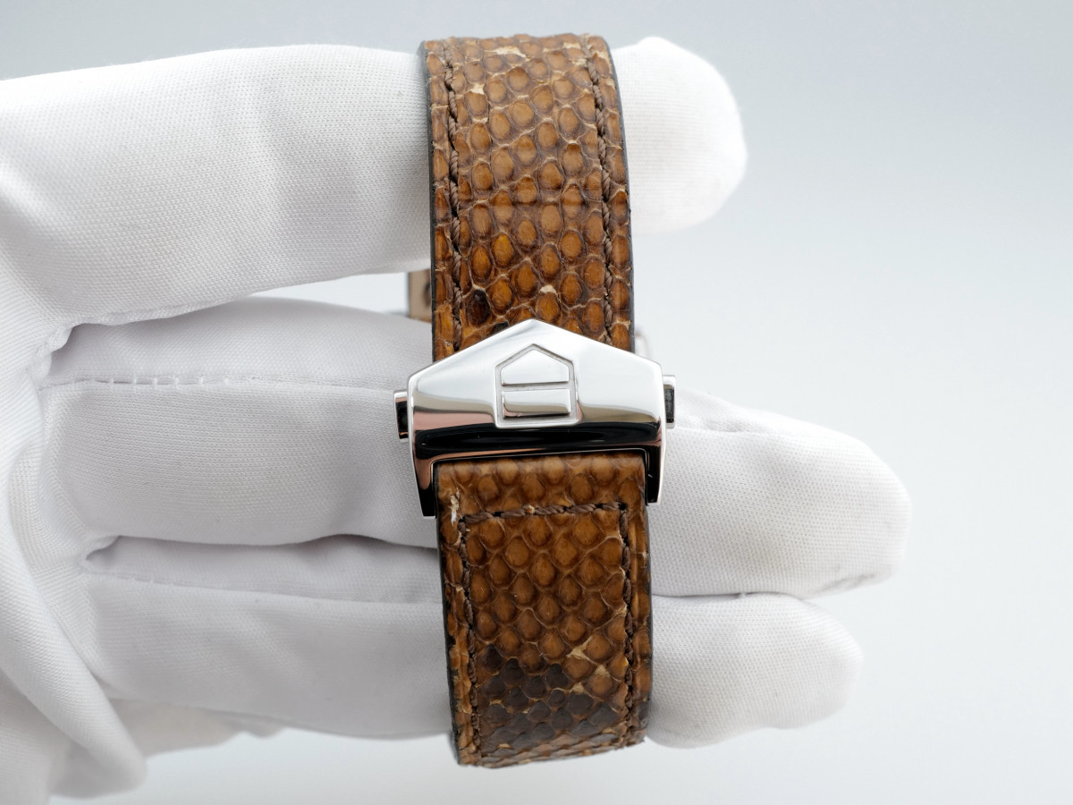 Швейцарские часы TAG Heuer Monaco Bronze Diamond Dial Python