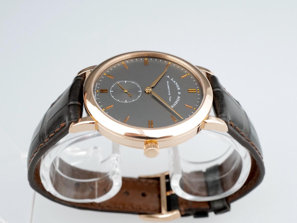 Швейцарские часы A. Lange & Söhne Saxonia 18K Rose Gold Manual Wind 37mm