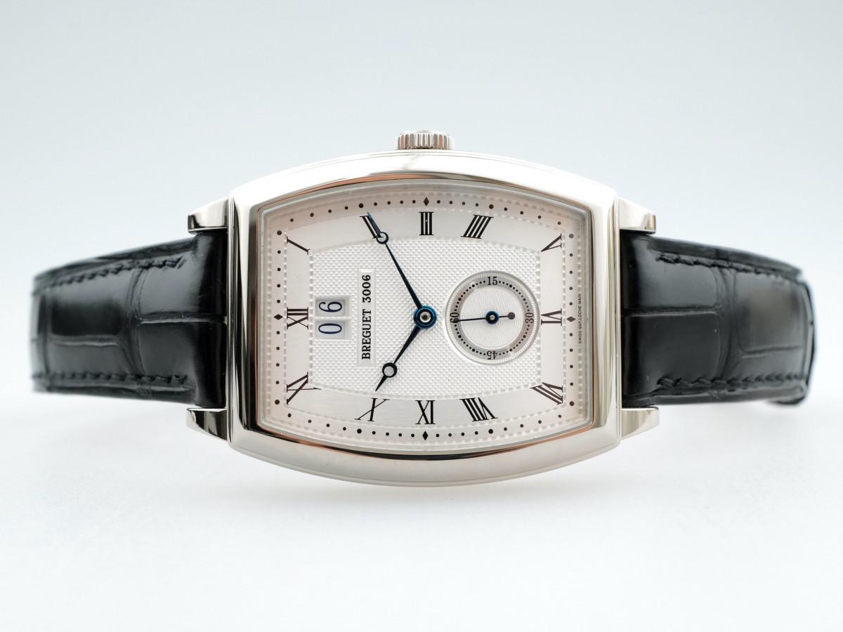 Швейцарские часы Breguet Heritage Big Date 18K White Gold