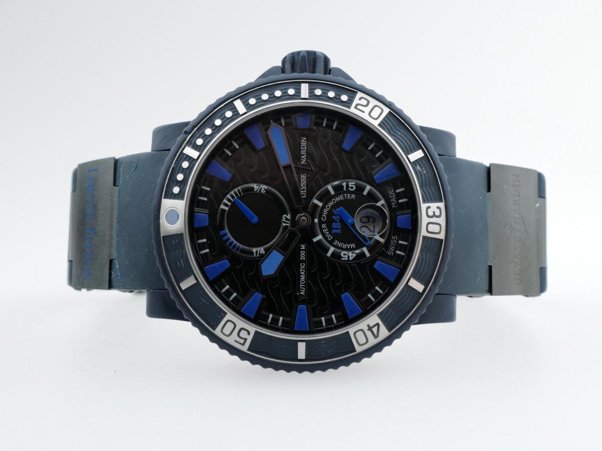 Швейцарские часы Ulysse Nardin Maxi Marine Diver Blue Sea