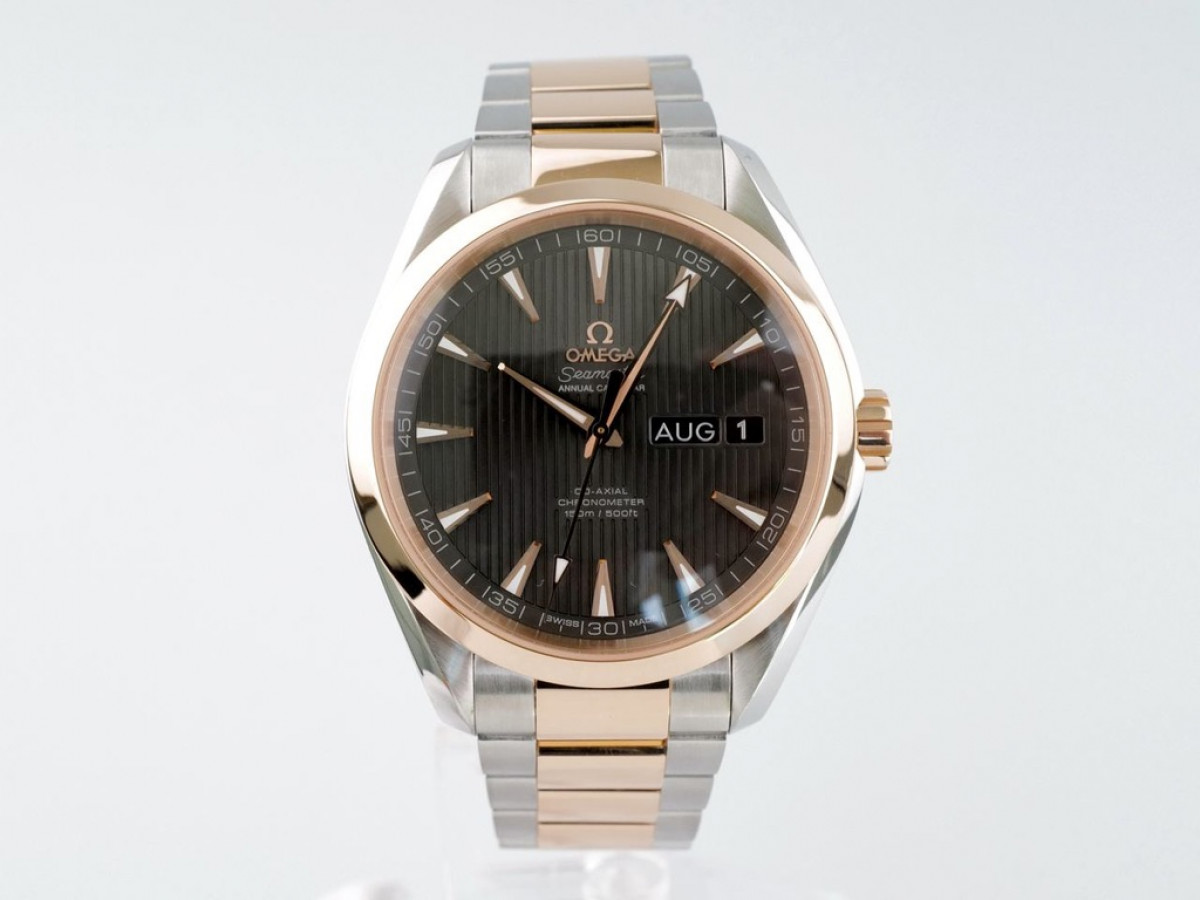 Швейцарские часы Omega Aqua Terra Co-Axial Chronometer Annual Calendar