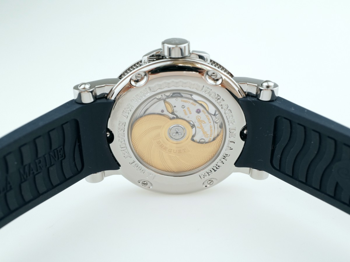 Швейцарские часы Breguet Marine Automatic Big Date 39mm 5817st/12/5v8