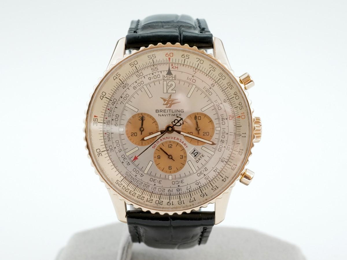 Швейцарские часы Breitling Navitimer Limited Edition Rose Gold