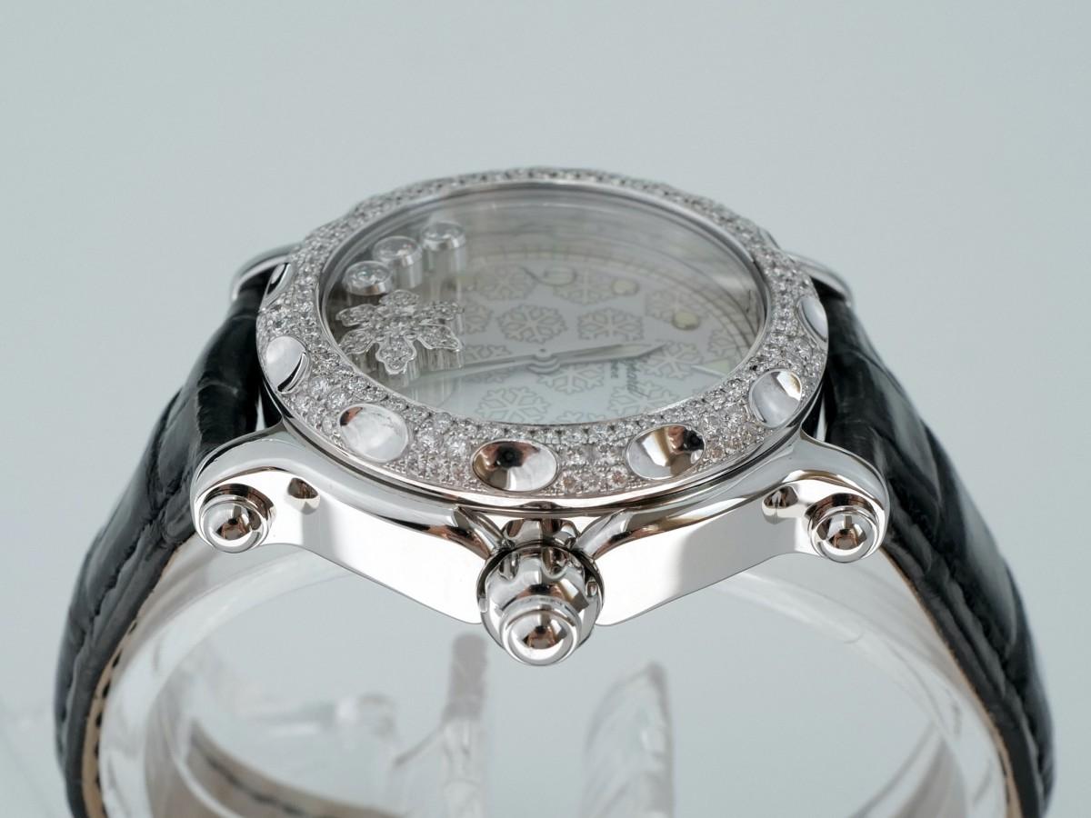 "Швейцарские часы Chopard Happy sport ""Snowflake"" quartz 38mm"