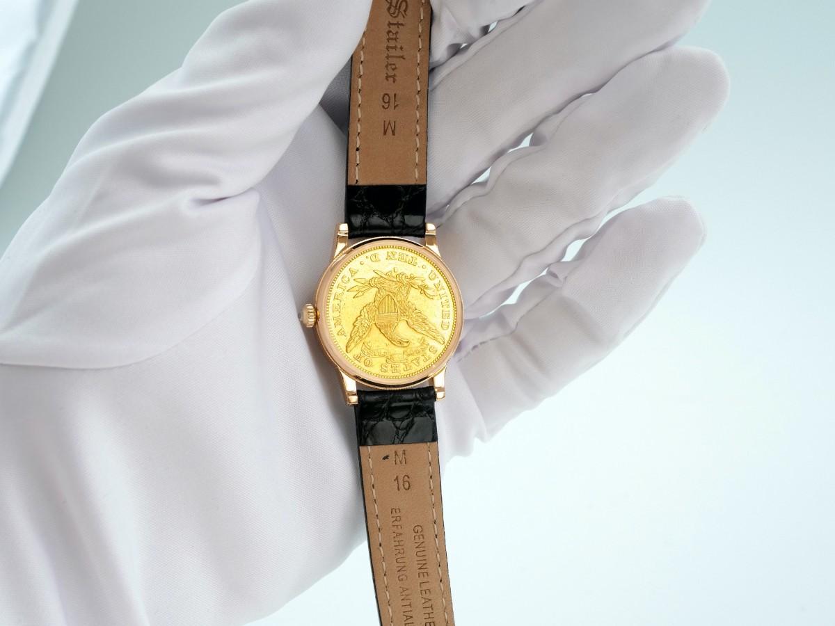 Швейцарские часы Corum Coin 1883 10 Dollar