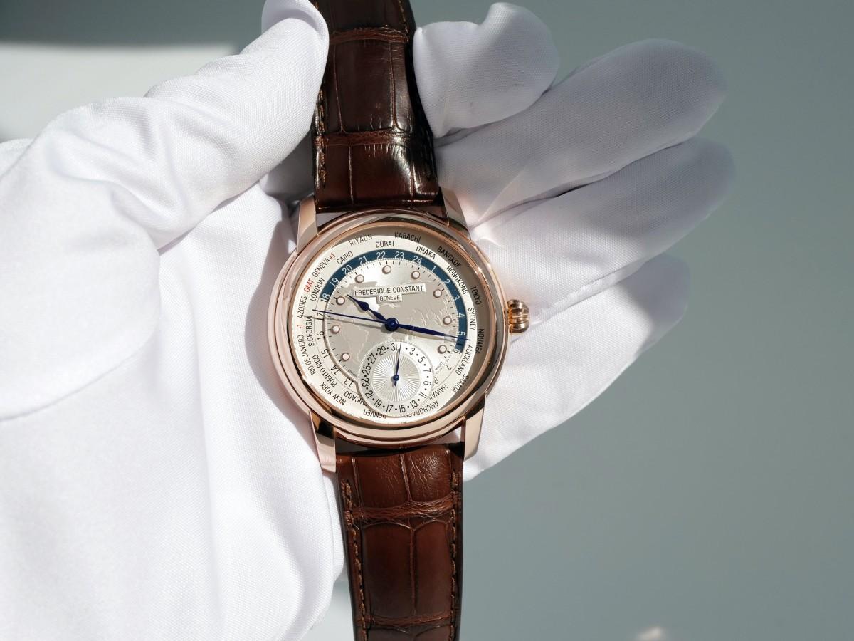 Швейцарские часы Frederique Constant Worldtimer FC-718WM4H4