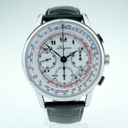 Швейцарские часы Longines Heritage Telemeter Chronograph 41mm