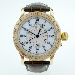 Швейцарские часы Longines Lindbergh Hour Angle 47mm L2.678.6 18K Limited