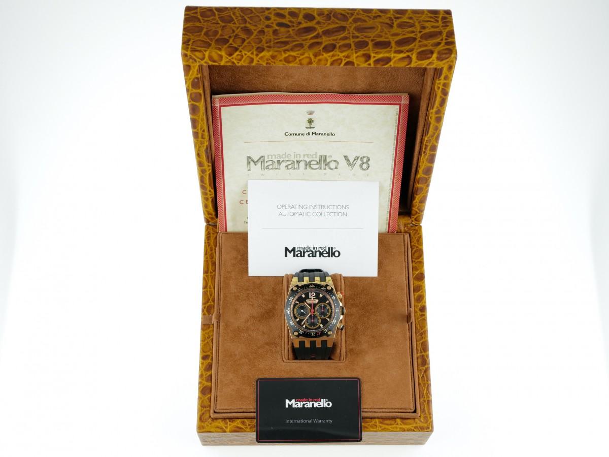Швейцарские часы Maranello Chronograph Tricompax Rose Gold