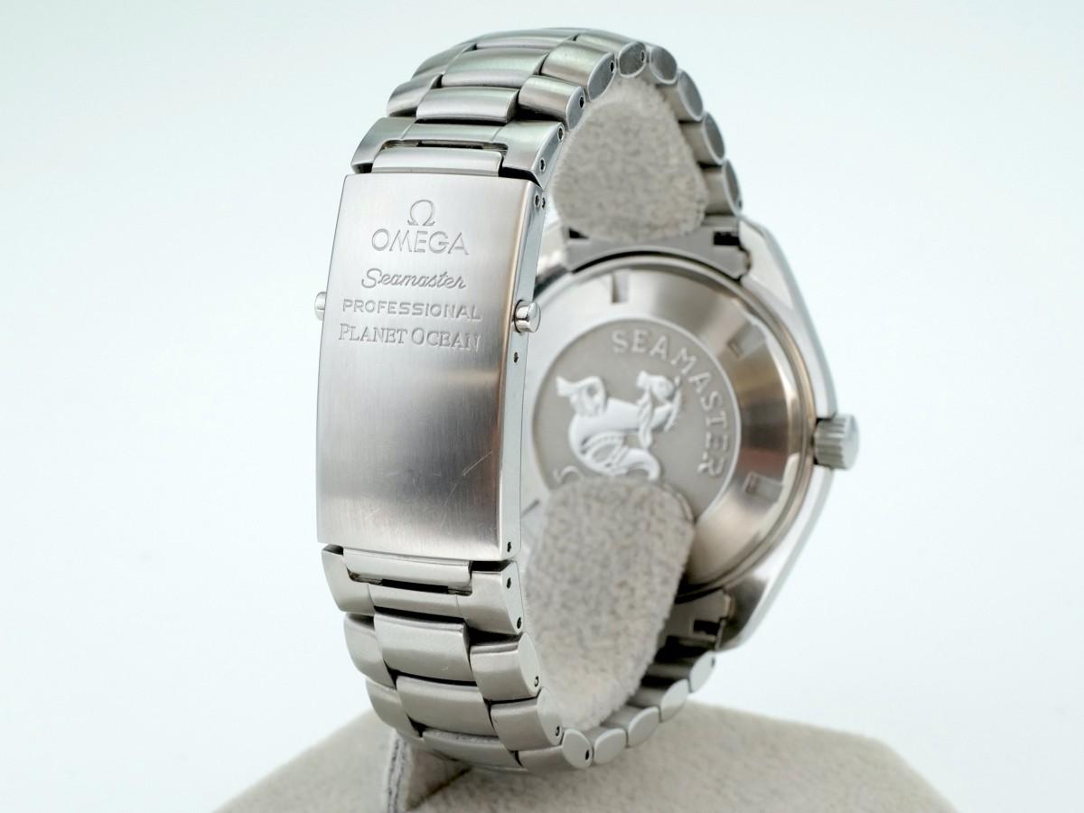 Швейцарские часы Omega Seamaster Planet Ocean 600M Co-Axial 45,5 mm