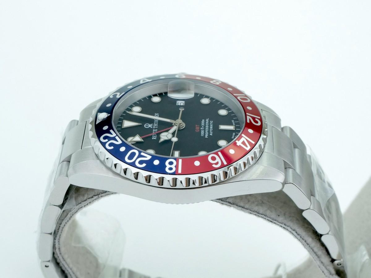 Швейцарские часы Revue Thommen Diver GMT Rot-Blau 42mm 17572.2135