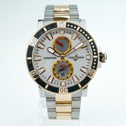 Швейцарские часы Ulysse Nardin Maxi Marine Diver 45mm Titanium & Gold